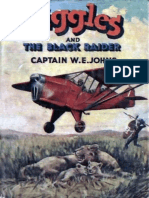 Biggles and the Black Raider - W E Johns