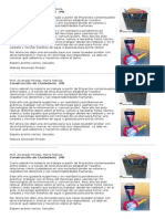 Proyecto Reciclaje Presentación 3B Alvarado