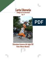 Carta Literaria No. 9