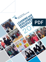 learning and development prospectus 2014