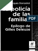 La Policía de Las Familias. Prólogo, Capítulo I y II