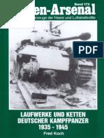 Waffen Arsenal - Band 172 - Laufwerke und Ketten deutscher Kampfpanzer 1935-1945