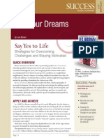 Live Your Dreams Summary