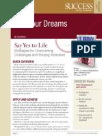Live Your Dreams Summary
