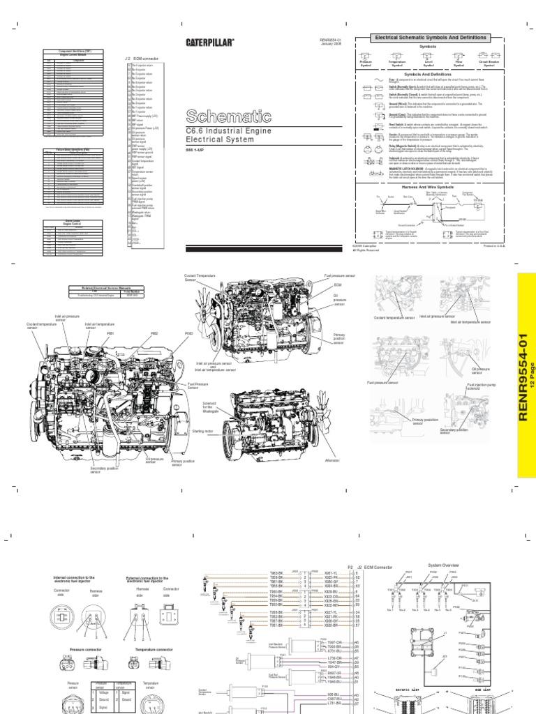 Cat C6 Ecm Pin Wiring Diagram | Wiring Diagram