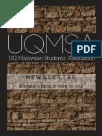 UQMSA Newsletter 2014 Sem 1