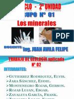 Los Minerales - Rocas