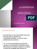 Tema 5 La Entrevista