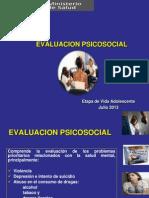 Evaluacion Psicosocial Julio 2013