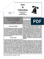 1991 Issue 1 - Law and Liberation
