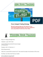 Forex  Strategy Training