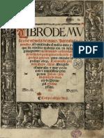 Luys Milan - Libro de Mvfica de Vihuela de Mano. Intitulado El Maeftro