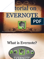Tutorial on Evernote