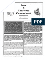 1991 Issue 2 - Rome and the Second Commandment - Counsel of Chalcedon