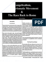 1991 Issue 2 - Evangelicalism, The Charismatic Movement & The Race Back to Rome - Counsel of Chalcedon