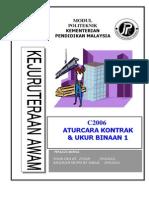C2006_Aturcara Kontrak & Ukur Binaan