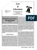 1991 Issue 3 - Law and Liberation