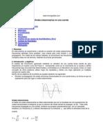 Informe Ondas Estacionarias - MELDE