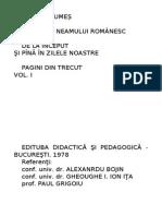 Mihail Drumes Povestea Neamului Romanesc Vol 1