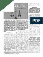 1991 Issue 5 - Cross-Examination