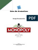 monopoly psp - gdd