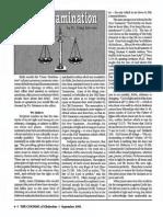 1991 Issue 6 - Cross-Examination