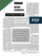 1991 Issue 6 - Sermons on Zechariah