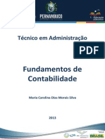 Caderno de ADM( Fundamentos Da Contabilidade)
