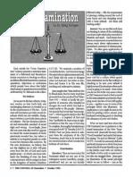 1991 Issue 7 - Cross-Examination