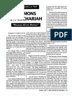 1991 Issue 7 - Sermons on Zechariah