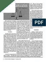 1991 Issue 8 - Cross-Examination