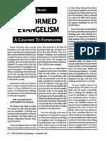 1991 Issue 8 - Reformed Evangelism