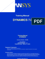 Dynamics 70 Toc