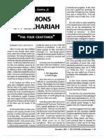 1991 Issue 9 - Sermons on Zechariah