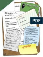 InSpectres CharacterSheet
