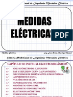 Cap II. Medidas Eléctricas Inst. Elect.