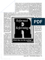 1992 Issue 1 - Reformed or Reforming