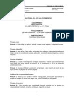 Codigo Penal Del Estado de Campeche