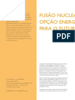 Fusao Nuclear Uma Opcao Energetica Para o Futuro