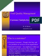 TQM Customer satisfation