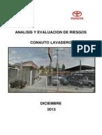 Analisis de Peligros y Riesgos Toyota Lavadero