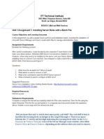 NT2670 Unit 1 Assignment