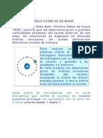 Modelo Atom i Code Bohr