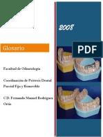 Glosario Prostodoncia