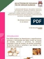 Analisis Microbioogico de Pan