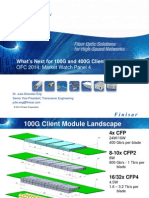 What's Next for 100G and 400G Client Optics - Finisar 2014