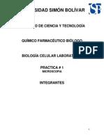 Practica 1 de Biologia Celular Laboratrio