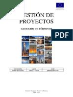 Glosario de Terminos Gestión de Proyectos