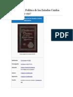 Constitución Política de Los Estados Unidos Mexicanos de 1917
