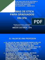 USAC AuditoríaINormasdeEticadeCPA2010